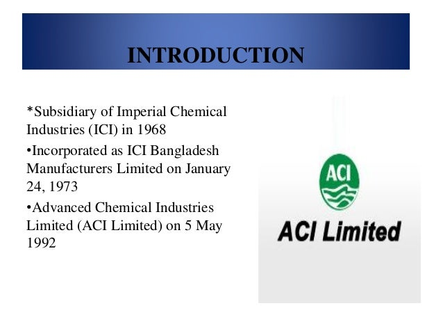 swot analysis of bangladesh aci limited Bangladesh is limited in its reserves of coal and oil, and its industrial base is weak the country's main endowments include its vast human resource base, rich agricultural land, relatively abundant water, and substantial reserves of natural gas.