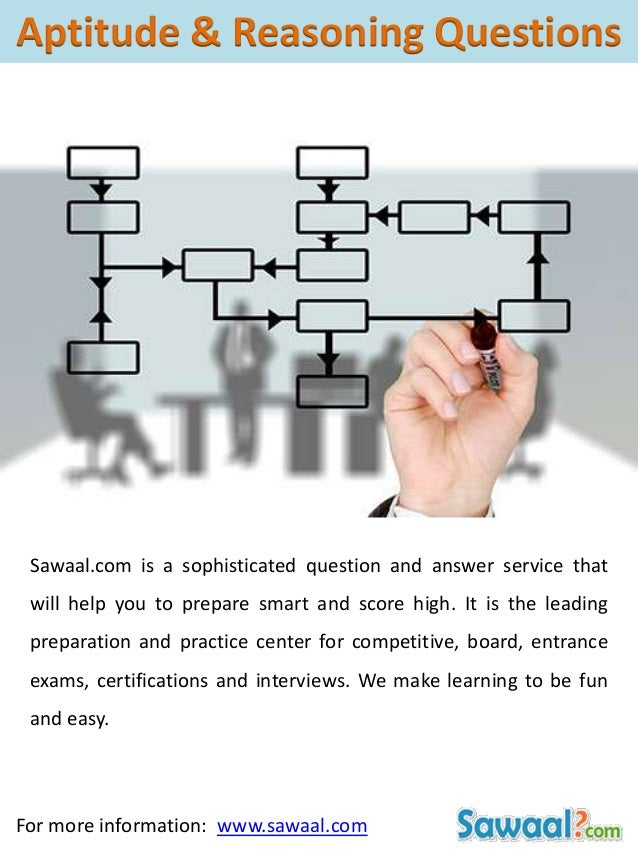 Sawaal.com is a sophisticated question and answer service that will help you to prepare smart and score high. It is the le...