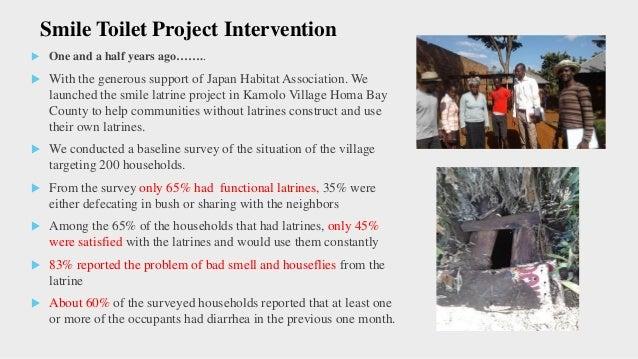 Smile Latrine Project Smile Toilet project combines community led total sanitation strategies with sanitation marketing t...