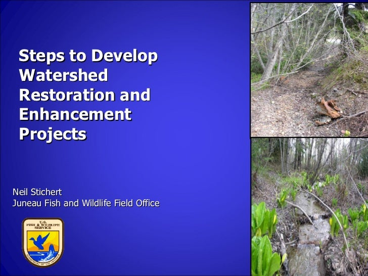 Steps to Develop Watershed Restoration and Enhancement ProjectsNeil StichertJuneau Fish and Wildlife Field Office