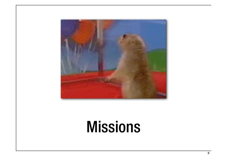 Missions           8