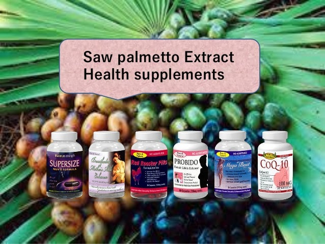is saw palmetto safe for hair loss