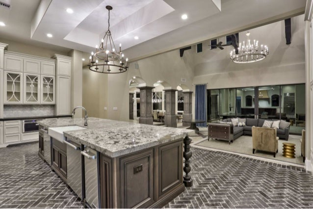 Elegant Transitional Home Design   Gourmet Kitchen