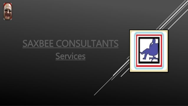 SAXBEE CONSULTANTS Services