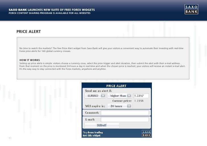 Forex currency widget
