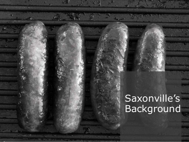 saxonville case study Saxonville case study this week i am going to take a break from discussing my marketing research project and fill you in on a case study that i.