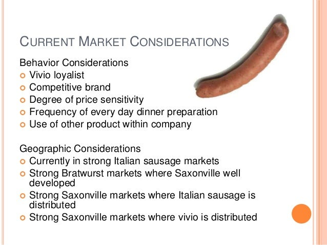Saxonville Sausage Company Case Study Solution & Analysis