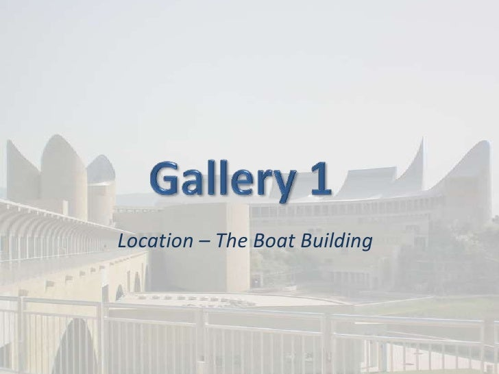 Location – The Boat Building