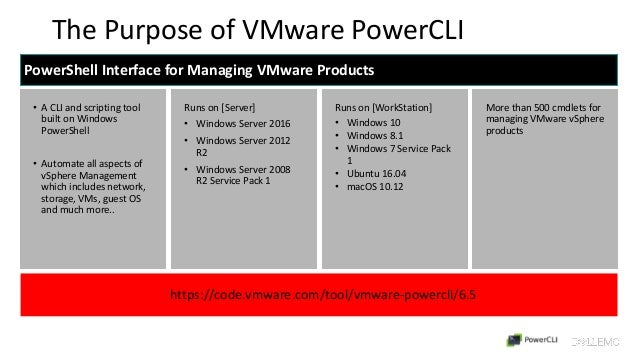 Say Bye to VMware PowerCLI ! Time to