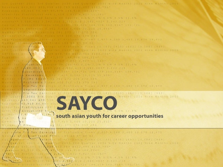 SAYCO south asian youth for career opportunities