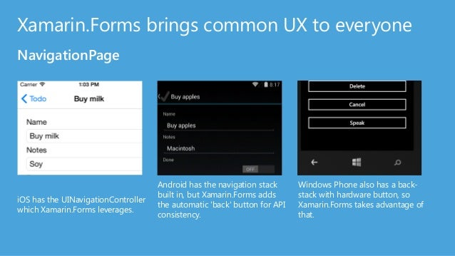 140+ new Controls! http://components.xamarin.com From our Partners!