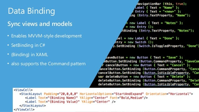 Custom Renderers Extend or Create Xamarin.Forms Controls ■ Subclass the built-in Platform Renderers ■ Build your own Xamar...