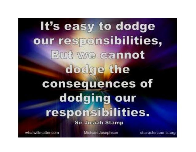 Sayings about rspnsblts Slide 2