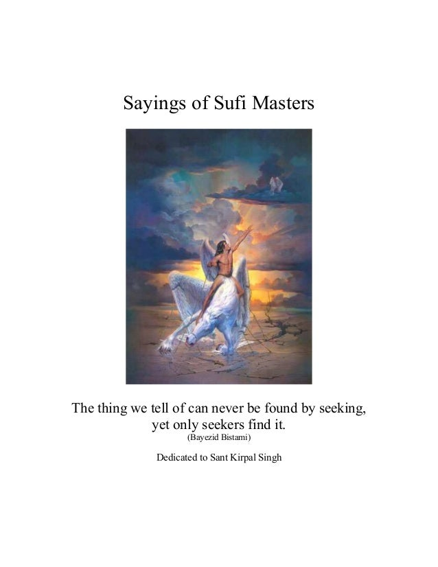 Sayings of sufi_masters