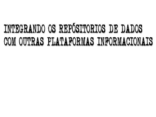 E ACREDITE NOS REPOSITÓRIOS DIGITAIS CONFIÁVEIS