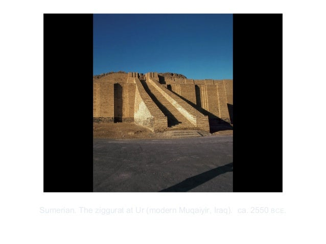 Copyright ©2012 Pearson Inc.Sumerian. The ziggurat at Ur (modern Muqaiyir, Iraq). ca. 2550 BCE.