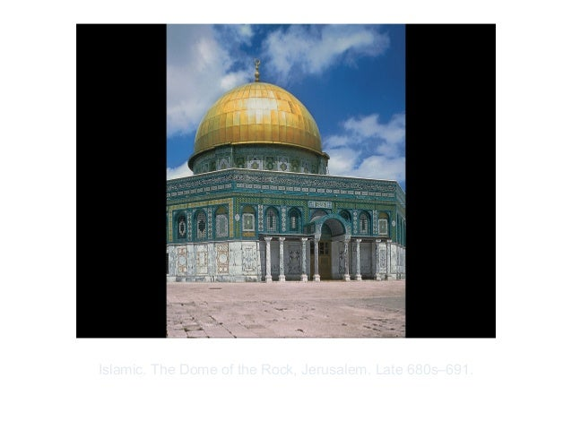 Copyright ©2012 Pearson Inc.Islamic. The Dome of the Rock, Jerusalem. Late 680s–691.