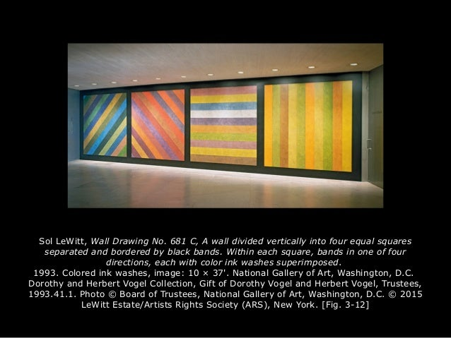 compare sol lewitts and vincent van gogh Art 101 week 3 assignment 2 when comparing the lines in the vincent van  gogh's the starry night painting and sol lewitt's the wall drawing no 681, the.