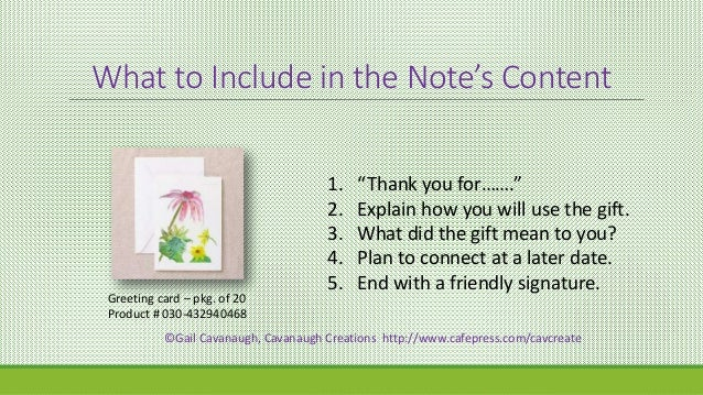 say thank you how to write a thank you note