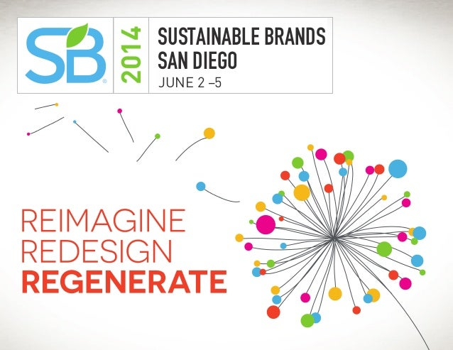 2014  ®  SUSTAINABLE BRANDS SAN DIEGO JUNE 2 –5  www.SB14sd.com
