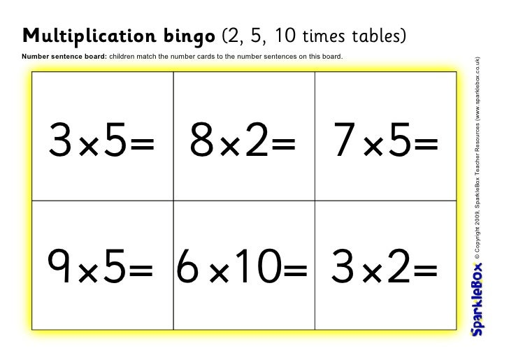 how to change a multiplication sentence to addition