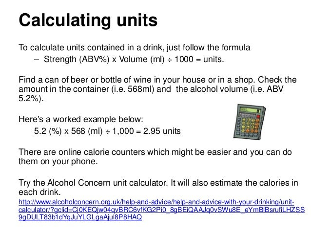 Assessment tools: alcohol