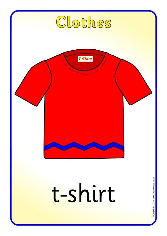 t-shirt  ©Copyright 2010, www/sparklebox.co.uk  Clothes