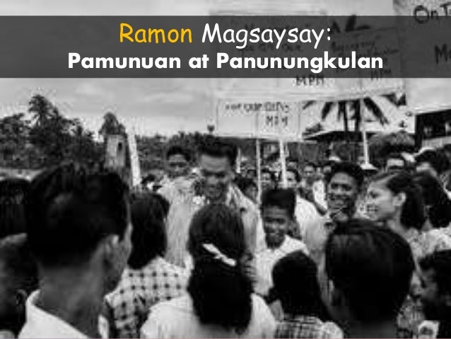 Aika ramon magsaysay essay