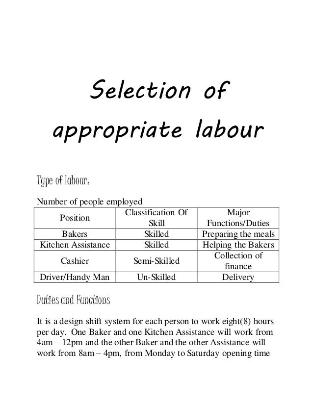 pob sba justification of location and type of labour Read this essay on pob sba justification of location and if you don't select the most appropriate type of labour then inefficiency would take.