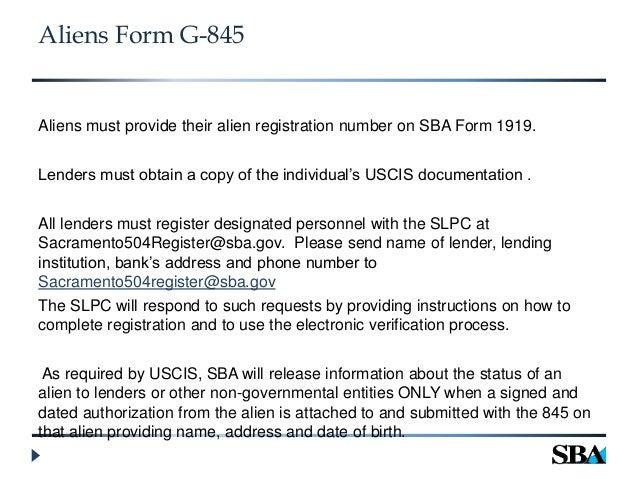 Form G 845 Ordekeenfixenergy