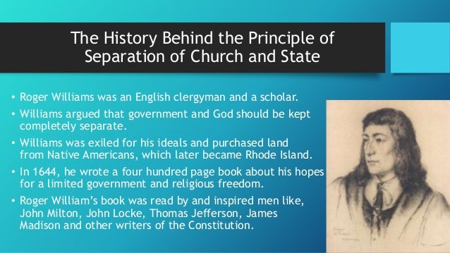 a critical analysis of thomas jeffersons views on the separation of state and church and the role re Correcting a jefferson quote on separation of church and state we know that jefferson wanted a healthy division between church and state in the new american republic, but the above particular quote alone hands us no more than an observation by jefferson on a particular bit of historical context.