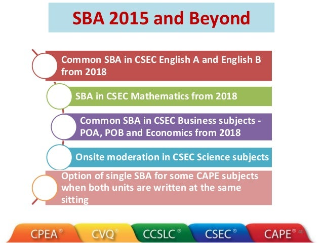 cxc economics sba sample E xam i nat i o n s council secondary education certificate guidelines for submitting school-based assessment for economics a overview each centre is required to.