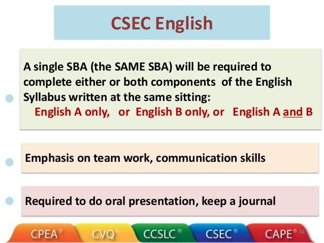a breakdown of the csec english a sba csec english made easy rh csecenglishmadeeasy com