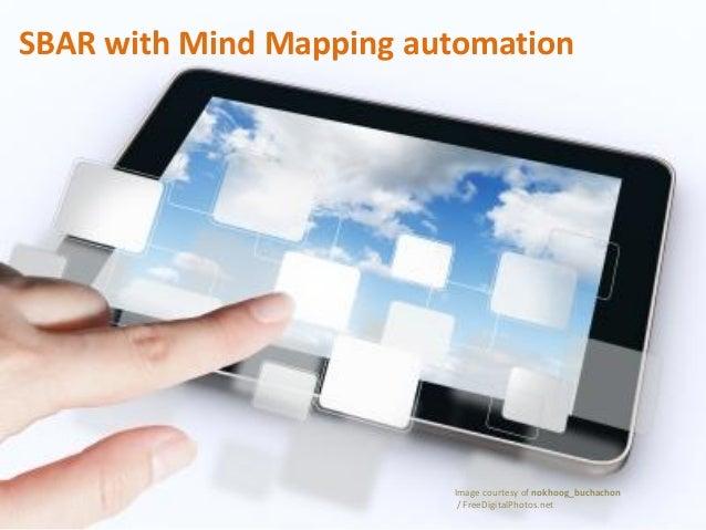 SBAR with Mind Mapping automation Image courtesy of nokhoog_buchachon / FreeDigitalPhotos.net