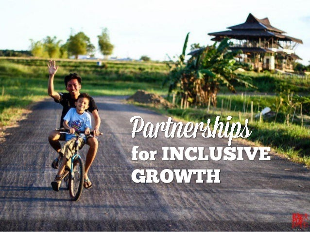 for INCLUSIVE  GROWTH