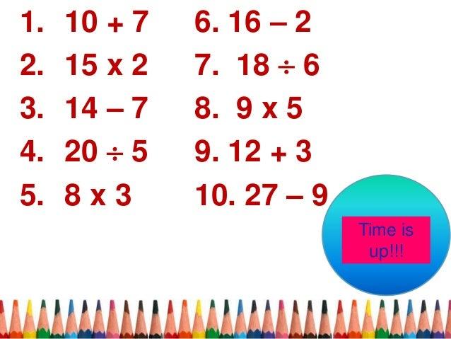 Sb assessment in math Slide 3