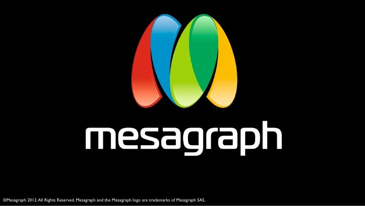 ©Mesagraph 2012. All Rights Reserved. Mesagraph and the Mesagraph logo are trademarks of Mesagraph SAS.