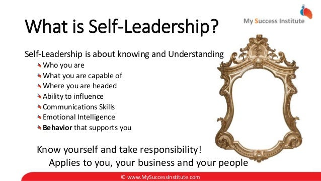 personal leadership and skills Use mindtoolscom resources to learn more than 2,600 management, leadership and personal effectiveness skills, helping you to be happy and successful at work.