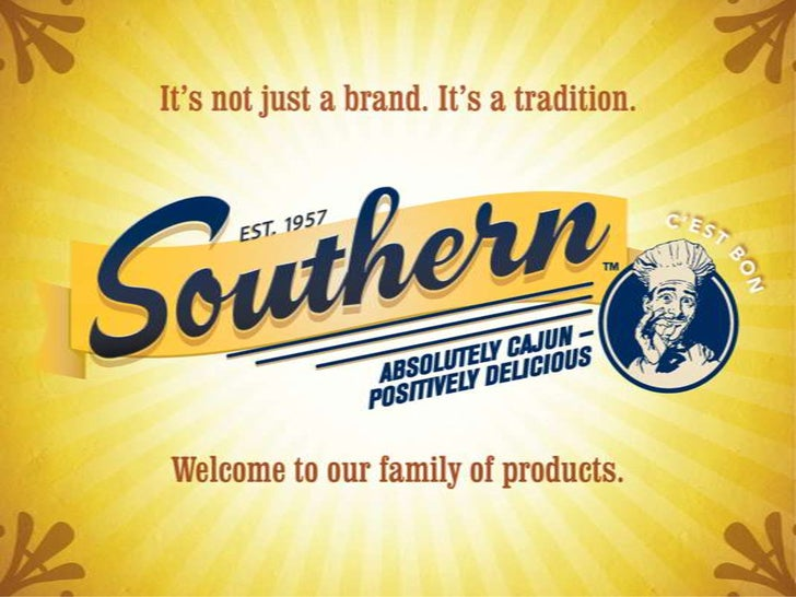 Southern, Inc. Product Line