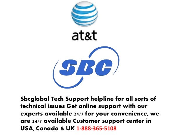 SBCglobal Customer Service Technical Support Phone Number
