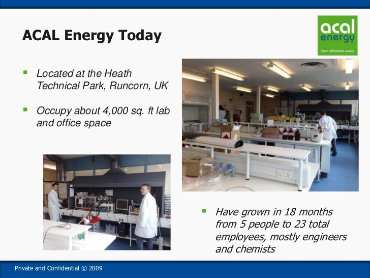 Fuel Cell Startups in the UK - SB Cha ACAL Energy Stanford