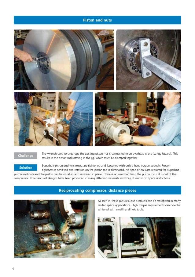 Superbolt solutions for Compressors