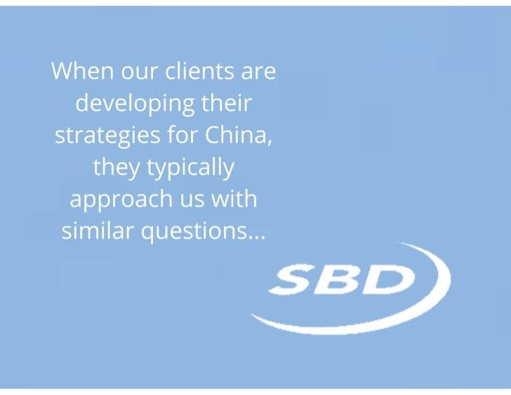 Sbd china-presentation