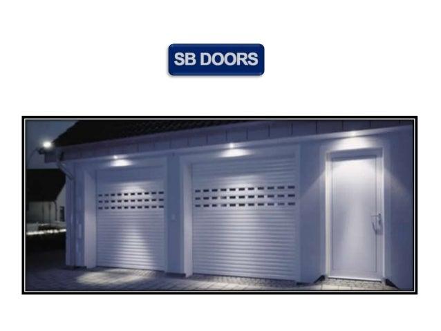 Sb Doors Garage Doors Shop In Leeds