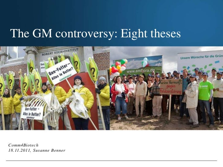 The GM                                   controversy:                                   Eight thesesThe GM controversy: Ei...