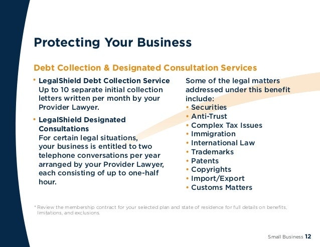 Legal Shield Small Business Flipbook - Legal documents for small business
