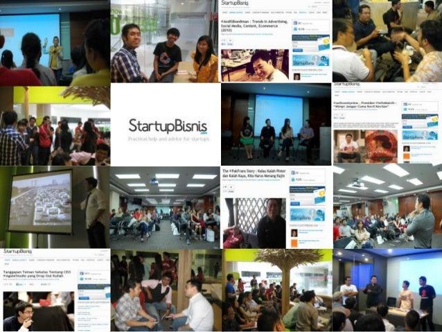 STARTUPBISNIS.com StartupBisnis.com adalah website yang ditujukan untuk membantu perkembangan Startup / entrepreneurship d...
