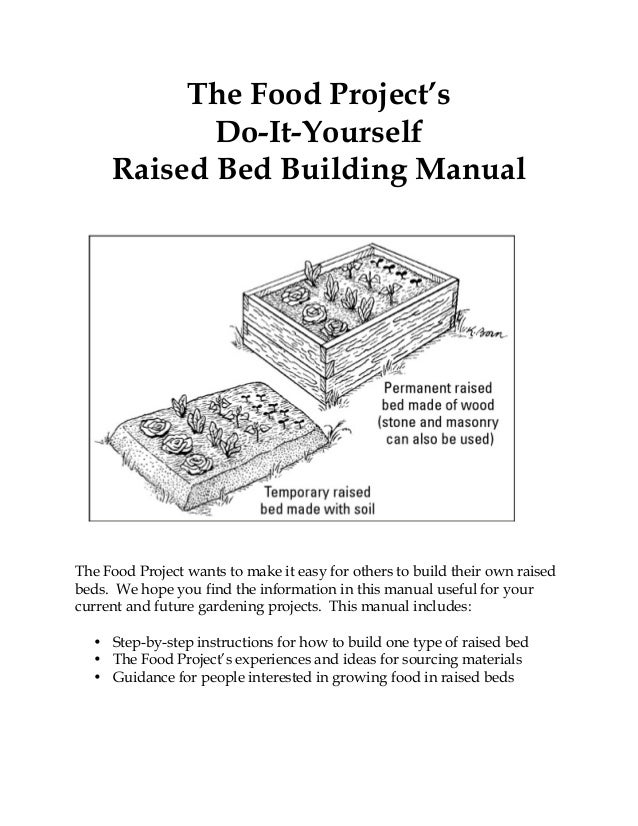 Straw Bale Raised Bed Gardening ~ The Food Project. The Food Projectu0027s  Do It Yourself Raised Bed Building Manual The Food Project Wants ...