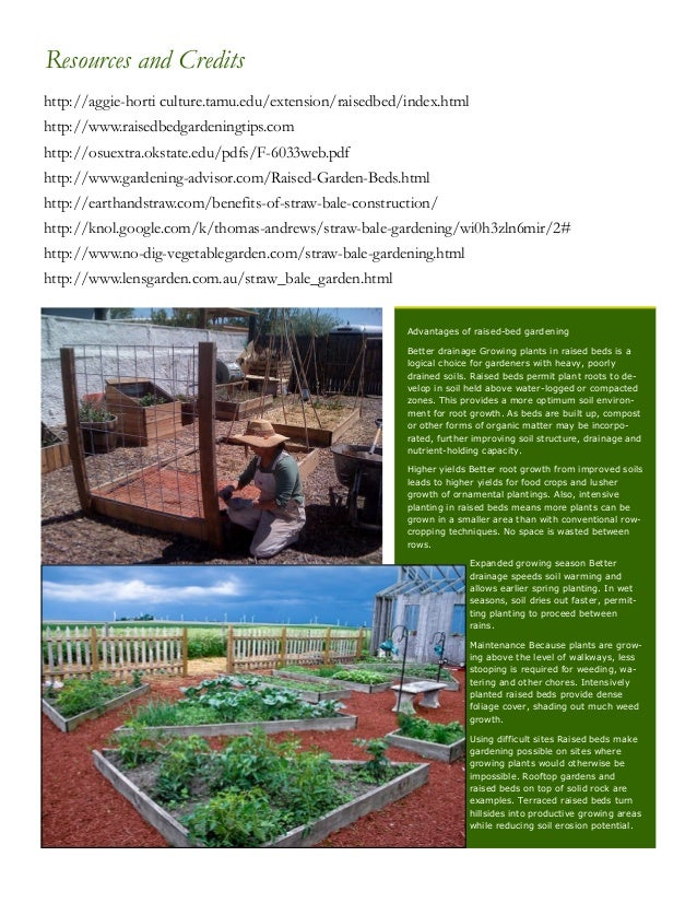 Building A Straw Bed Garden; 6. ...