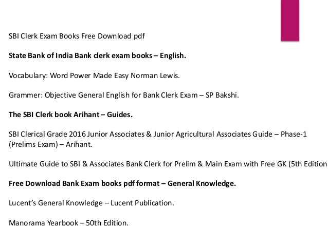 English Material For Bank Exams Pdf